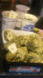 4 containers of hops